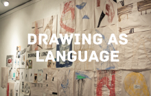 Drawing as Language, Eugene Contemporary Art, Performance, Oregon