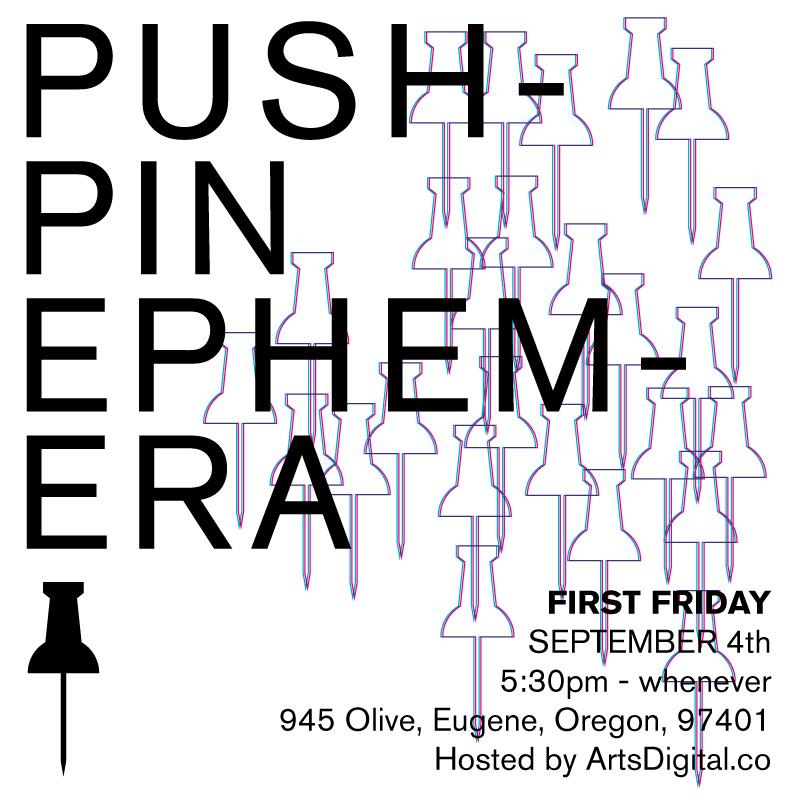 Pushpin Ephemera Pop-up Show